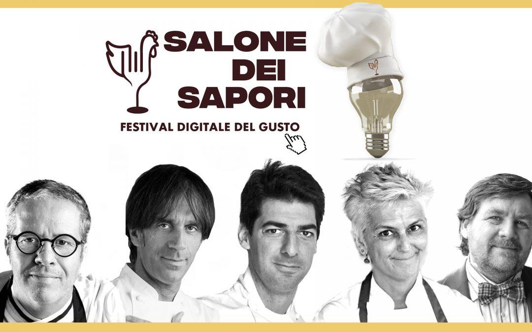 Torna il Salone dei Sapori, il primo Festival digitale del Gusto ai tempi del Coronavirus